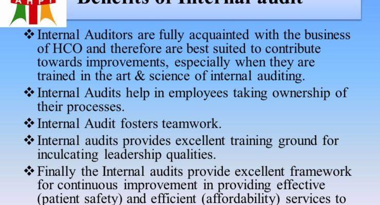 Business Benefits Of Internal Audits